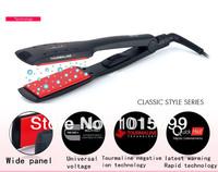tourmaline ceramic electronic hair styling tools hairdresser professional tool iron ceramic hair straightener UK/EU/US PLUG