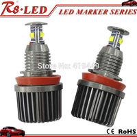 Car Angel Eyes LED Bulbs E92 H8 LED Marker Angel Eyes 2pcs X32w/each Canbus Cree LED Bulbs Error Free White No OBD Error