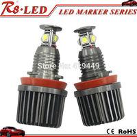 LED Angel Eyes Bulbs E92 H8 LED Marker Angel Eyes 2pcs X40w/each Canbus Cree LED Bulbs Error Free White No OBD Error