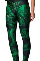 2013 Fashion Galaxy Leggings Space Cthulhu sexy Printed Pants Black Milk Leggings for women Free Size Drop shipping