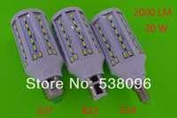 1pcs  E27 B22  E14 71 LED Chip 5730 SMD 20W 2000LM LED lights 110V/220V/AC LED Corn Bulbs Lanp Warm white / White Free Shipping