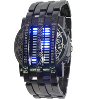 Free shipping men's sports watch brand new all-steel LED watch fashion watches military watch