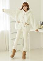 New Arrival 2014 women's thicken fleece wadded jacket winter outerwear keep warm snow wear