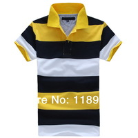 Man Fashion Brand Polo's 2014 Summer Tom Mens Short Sleeve Polo Shirt  Men Shirts DG3222