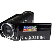 "New 16 MP digital video camcorder HD video camera 2.7"" TFT display 16 x digital zoom DV-C6 Free shipping"