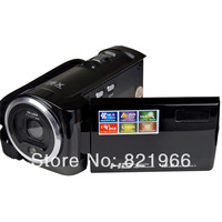 "New 16 MP digital video camcorder HD video camera 2.7"" TFT display 16 x digital zoom DV-C6 Free shipping"