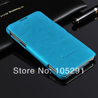 PU 64 Grain Leather Flip Case For Samsung Galaxy Note 3 N9000 Phone Shell Cover