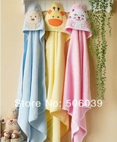 free shipping 3pcs/lot  hot sell infant bath towel infant blanket animal pattern infant bath towel baby  blanket