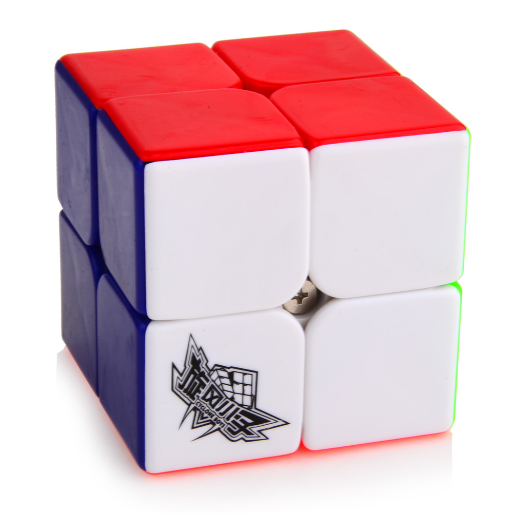 2015 Brand New Cyclone Boys 2x2x2 50mm Magic Cube Puzzle Challenge Gifts Cubes Puzzle Educational Toy Special Toys(China (Mainland))