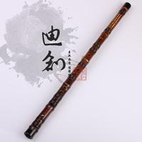 Calls advanced professional - black bamboo flute - musical instrument -