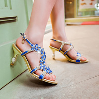 Fashion sexy 2014 women's plus size gladiator style sandals girls fashion
