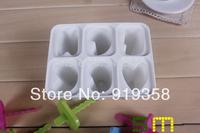 Hot  6pcs/set Cute Letters shape Popsicle box DIY Ice Cream Tool Ice Cube Tray Mold Ice Cream Maker  Ice Cream Tubs(ICM-035)