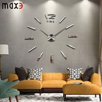 DIY big digital wall clock Modern design large decorative wall clocks diy watch unique gift