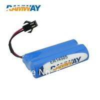 aa size bobbin battery 14500 pack battery SMP-2P battery