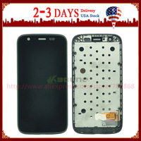 Glass LCD Display Touch Screen Digitizer Assembly Replacement For Motorola XT1032 MOTO G XT1033 Frame Free Shipping