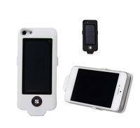 free shipping original new fashion solar power case cover 2500mah for iphone5/5s
