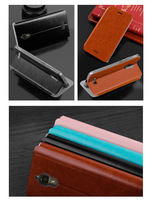 Afan Flip Leather Case Cover For Lenovo S660  Free Shipping