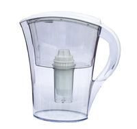 Hot!!!High Quality Best Price White Color 2L Alkaline Water Jug Water Filter Alkaline Water Pitcher nano energy pitcher