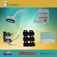 Roland printer parts spare parts dx4 wiper cap top maintain kit