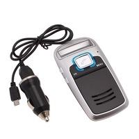 Free Shipping Bluetooth Car Kit Handsfree calls FM MP3 Player Solar Powered 84515