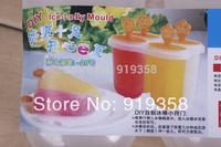 Hot 3PCS/set Smile Face shape Popsicle box DIY Ice Cream Tool Ice Cube Tray Mold Ice Cream Maker  Ice Cream Tubs(ICM-041)