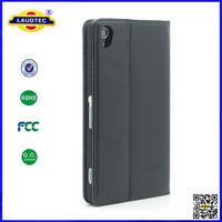 free shipping 300pcs/lot luxury wallet stand case for sony xperia Z2