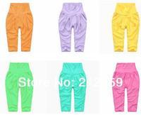 harem pants child male female child modal high waist trousers legging all-match trousers