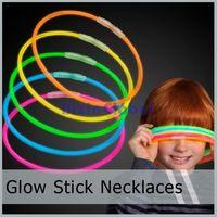 Glow Stick Light Up Necklaces Glowsticks LumiStick  Assorted Colors 50 pcs/lot