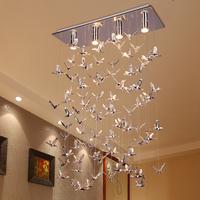 2014 New Arrival Fashion modern Personalized Living Room Pendant Light Rustic Hybrid-type Stair Bird Pendant Light