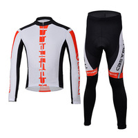 Fashion 2014 Cas scorpion Cycling Jersey Long- sleeve Sportwear Set Cycling Clothing CLBT0446