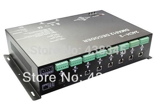 2014 New DMX Controller Console Led Rgb DMX Decoder DMX512 Rgb Controller Led Dmx Interface Dmx Led Controller(China (Mainland))