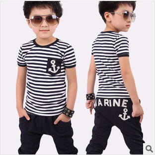 hot selling retail cotton kids boy and girl summer s