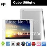 Original Cube U55gts Talk 79s Phone Call Tablet MTK8312 Dual Core Android 4.2   8 inch 1024x768 8.0MP Autofocus Camera GPS WCDMA