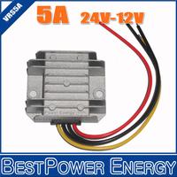 10pcs/lot DC to DC 24V to 12V 5A 60W Non-Isolated Step-down Voltage Converters Power Regulators