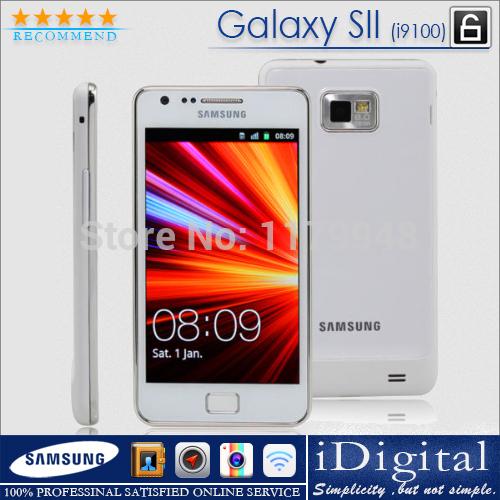 Buy Original Samsung GALAXY S2 I9100 - 16GB - Black Factory Unlocked Mobile Phone (Refurbished) With Free Gifts(China (Mainland))