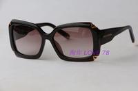 Glitter picture frame sun glasses z0366 gradient lens fashion personality 2014 sunglasses anti-uv