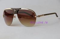 Fashion unisex sunglasses xykcher comfortable sunglasses metal frame gradient lens  designer sunglasses