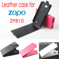 Original Up-Down Flip PU Leather Case For Zopo ZP810, Free Shipping