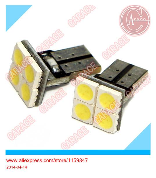 LED T10 4SMD 5050 1 High Power Wedge Base T10 LED Car LED Bulb T10, 501, W5W, 194 50pcs(China (Mainland))
