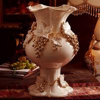 Fashion quality luxury countertop vase decoration lusterware royal decoration