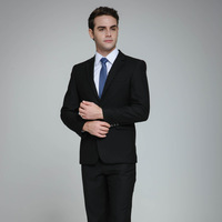 Commercial blazer set male suit slim formal work wear tooling work wear spring and autumn