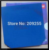 DHS blue sponge hurricane 3 three table tennis rubber ping pong rubber black rubber table tennis racket free shipping