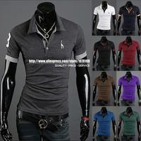 AIRMAIL Free shipping high quality men's brand shirt, Slim Fit Stylish short-Sleeve cotton Shirt ,STS06