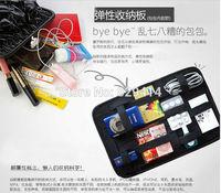 Unique design travel accessories bags men and women travel digital cosmetics organizer