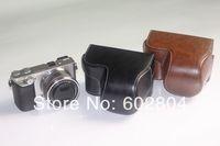 Wholesale! a6000 camera bag cover bag imitation leather case for Sony A6000 NEX-6 NEX6 16-50mm lens camera case leather bag