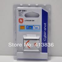 5pcs/lot Free shipping: NP-BN1 Battery for Sony DSC-W310 W320 W350 W360 W380 wholesale retail package