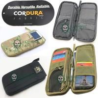 1000D outdoor Tactical multi-function document bag wallet/pocket card bag
