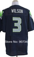 #3 Russell Wilson Jersey,Elite Sport Jersey Cheap American Football Jersey Stitched Logo Embroidery Authentic Jersey
