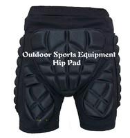 Outdoor Sports Men Women Ski Hip Pad Hip protectors Hockey Girdles Skiing Skating Hockey Pants Protective Shorts Black Color