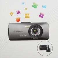 "New Dual Camera HD Car DVR Camera 148 Degree 2.7"" LCD HDMI G-Sensor Vehicle Video Recorder Car Blackbox AT950"
